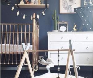 interior, nursery, and baby image