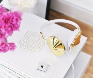 blush, decor, and golden image