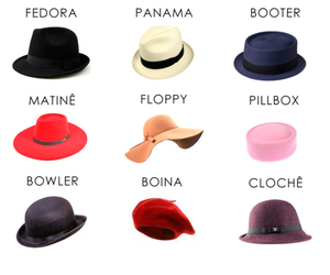 beret, boater, and bonnet image