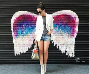 angel, beauty, and fashion image