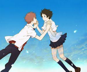 anime, toki wo kakeru shoujo, and love image