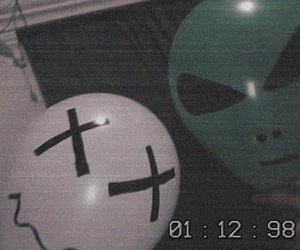 alien, effect, and face image