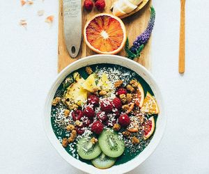 bowl, granola, and breakfast image