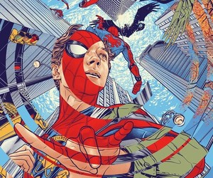 homecoming, spiderman, and Marvel image