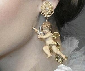 earrings, aesthetic, and angel image