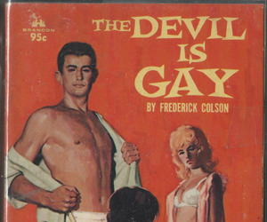 covers, paperback, and gay image
