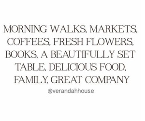 quotes, coffee, and family image