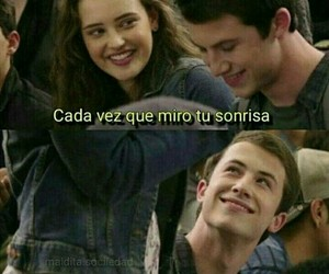 love, frases, and 13 reasons why image