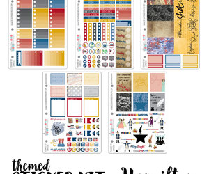 etsy, erin condren, and planner stickers image