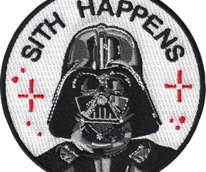 darth vader, patch, and star wars image