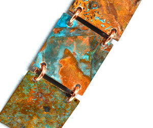 etsy, rustic copper, and rustic necklace image