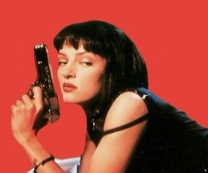 pulp fiction, 90s, and aesthetic image