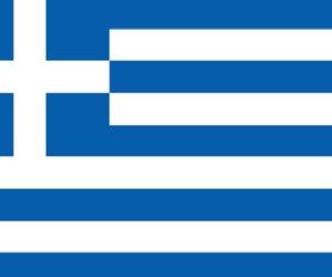 Athens, flag, and Greece image