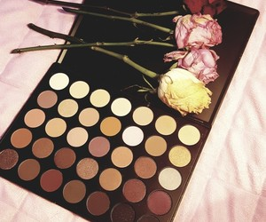 makeup and roses image