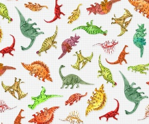 dinosaur and pattern image