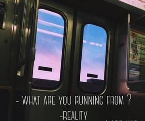bus, caption, and dark image