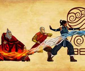 avatar, airbender, and aang image