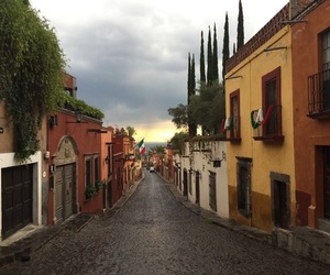 Houses, mexican, and mexico image