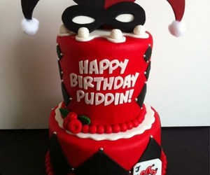 cake, harley quinn, and awesome image