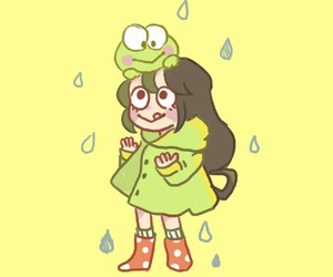 kawaii, rain, and boku no hero academia image