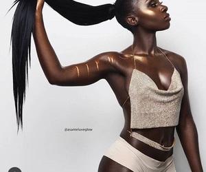 dark skin, black girls, and poc image