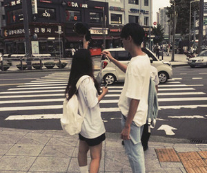 korean, couple, and ulzzang image