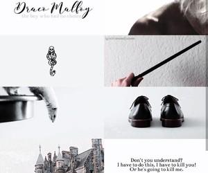 aesthetic, draco malfoy, and edit image