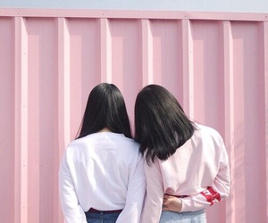 aesthetic, pink, and asian image