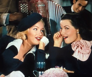 Marilyn Monroe and Jane Russell in Gentleman Prefer Blondes, 1953