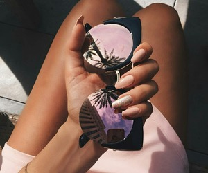 luxury, pink, and style image