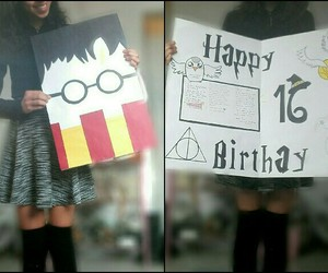 16, happy birthday, and harry potter image
