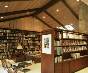 books, decor, and furniture image
