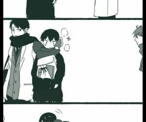 haikyuu!!, kageyama tobio, and ushijima wakatoshi image