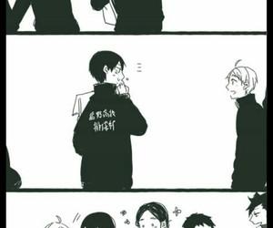 haikyuu!!, kageyama tobio, and tanaka ryunosuke image