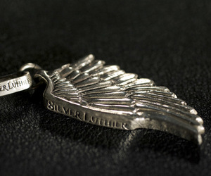 biker, feather jewelry, and mens fashion image