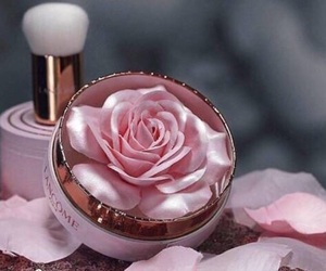 highlighter, rose highlighter, and lancome image