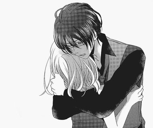 black&white, couple, and Diabolik image