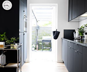 black, decor, and home image