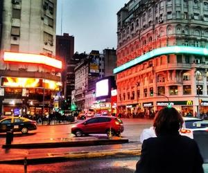 ciudad, Noche, and motivacion image
