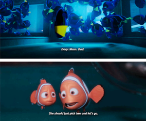 nemo, pixar, and disney image