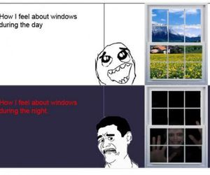 windows, funny, and lol image