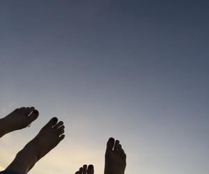 feet, shadow, and tumblr image