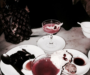 delicious, dessert, and drinks image