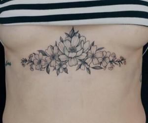 flor, flower, and girl image