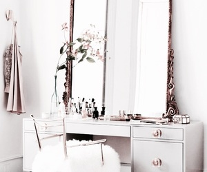 mirror, home, and interior image