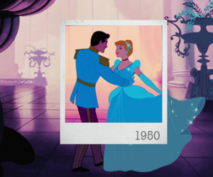 cinderella, polaroid, and couple image