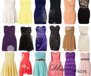 beautiful, coulours, and dresses image