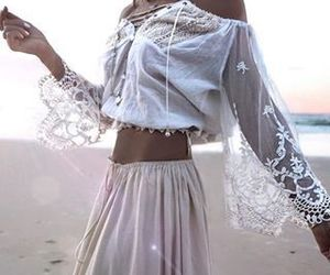 beautiful, boho, and style image