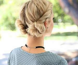 blond, elegance, and haircut image