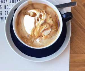 coffee, cappuccino, and delicious image